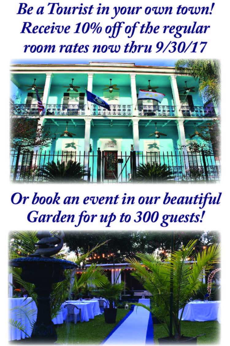 Hotel Storyville 10% off rooms