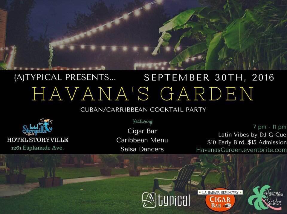 Hvana's Garden at Hotel Storyville