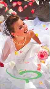 rose petal bride