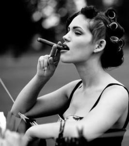 cigar lady 2